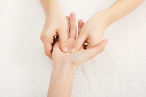 Hand Massage Physiotherapist